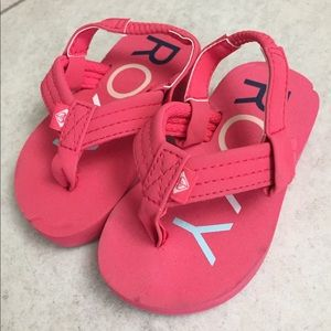 Roxy Toddler Girls Flipflops Size 5